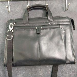 WILSON'S LEATHER | Crossbody Laptop Briefcase Bag